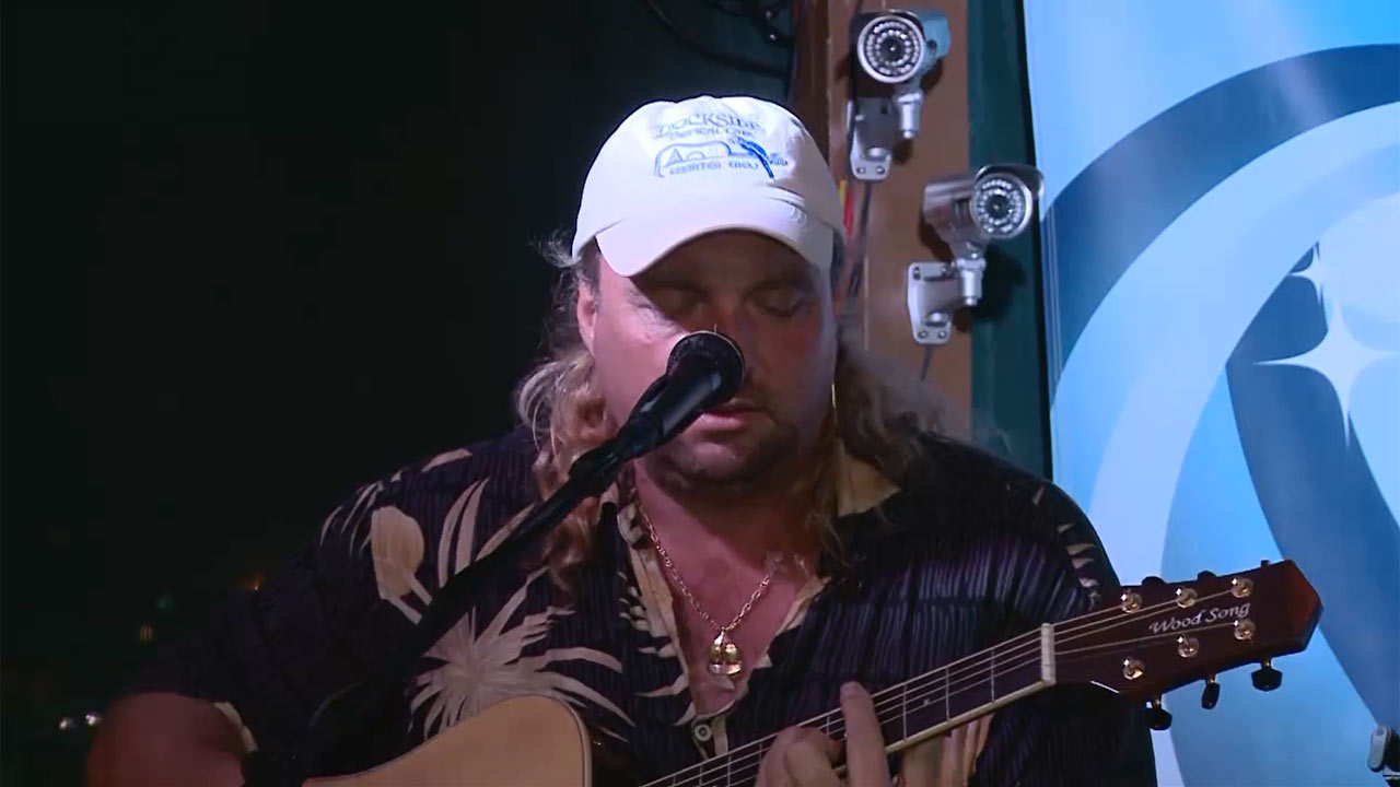 Eric Stone from Dockside Tropical Cafe - Music Scene