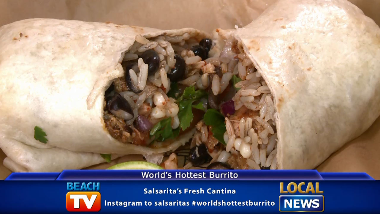 Salsarita's and the World's Hottest Burrito - Local News