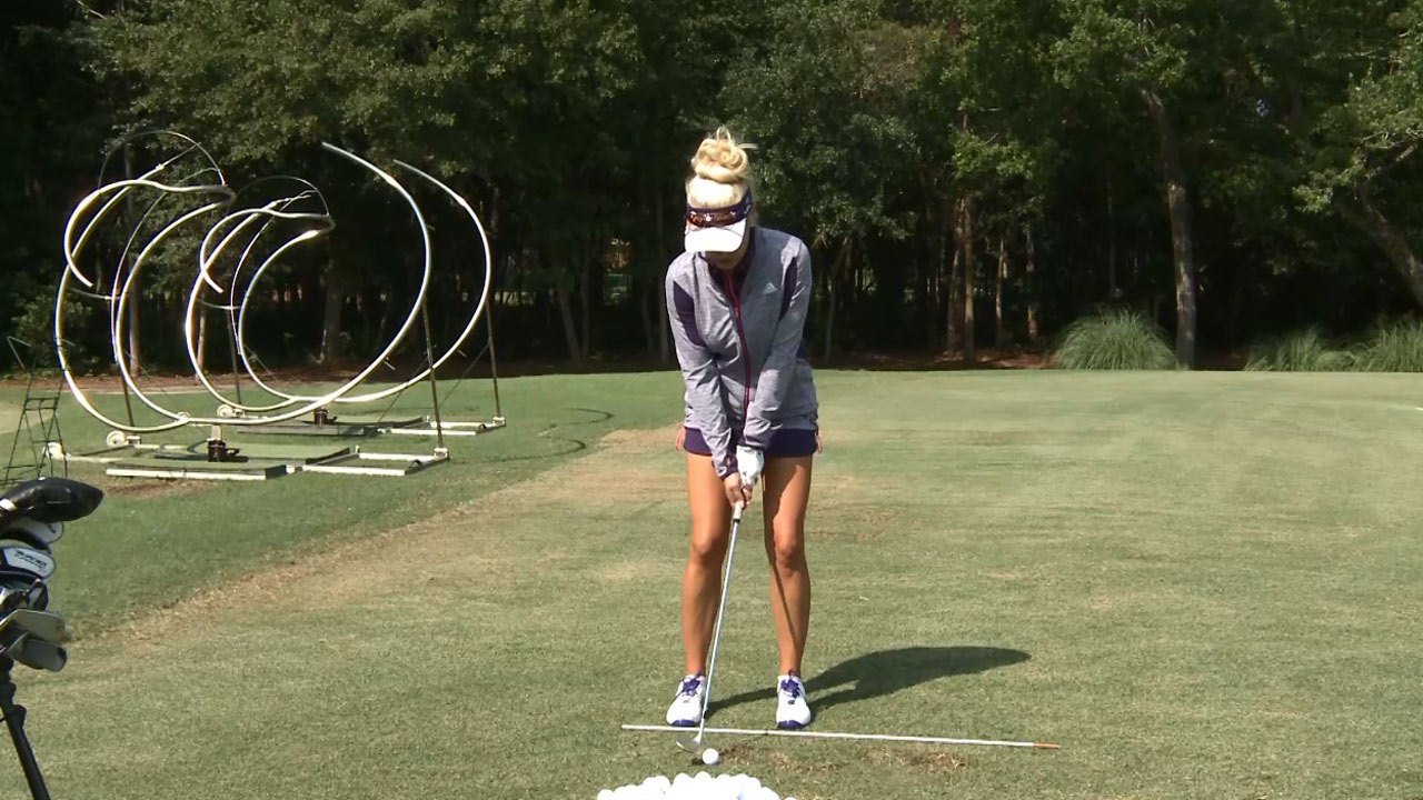 In-Between Wedge Shots with Natalie Gulbis - A Piece of Advice