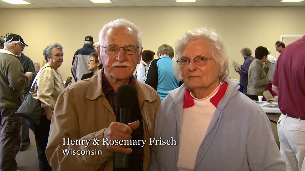 Harpoon Harry's Winter Visitors Henry & Rosemary Frisch from Wisconsin