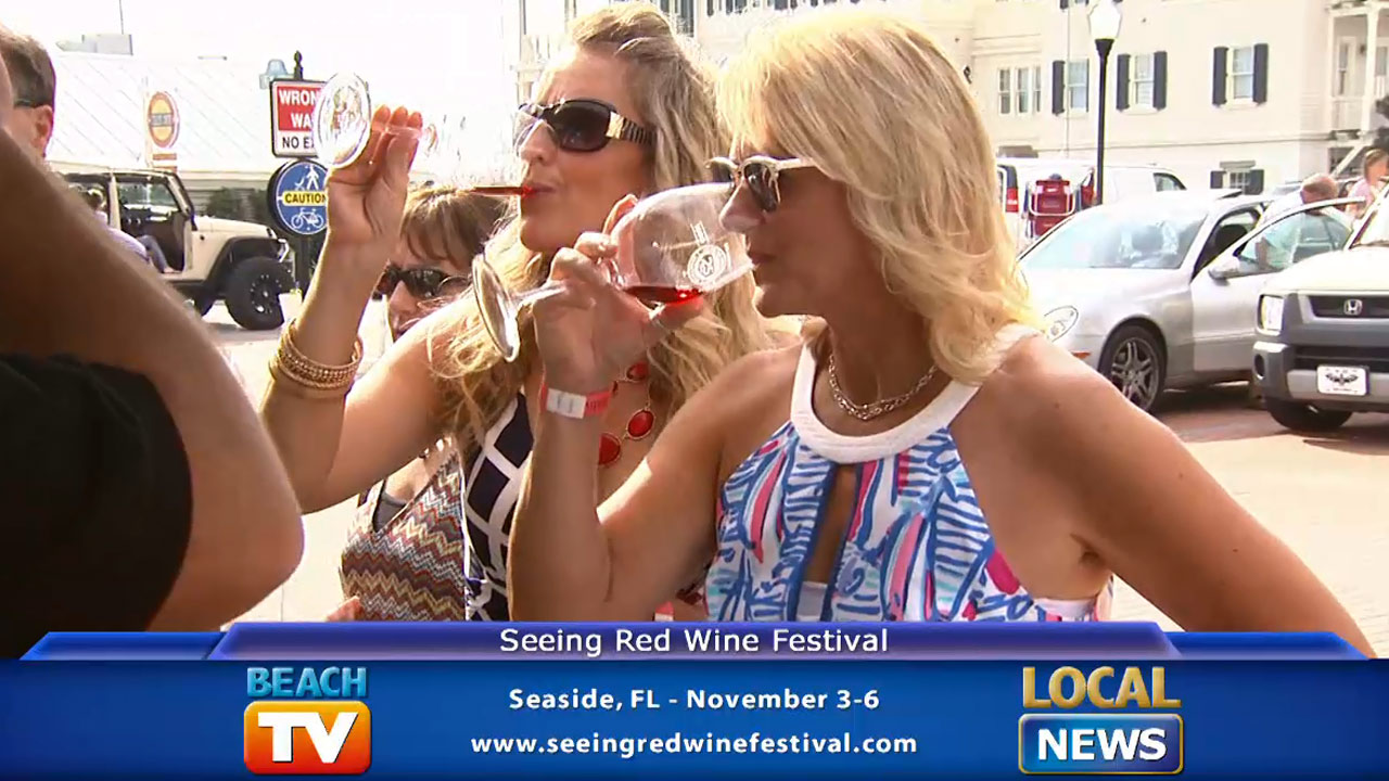 Seeing Red Wine Fest - Local News