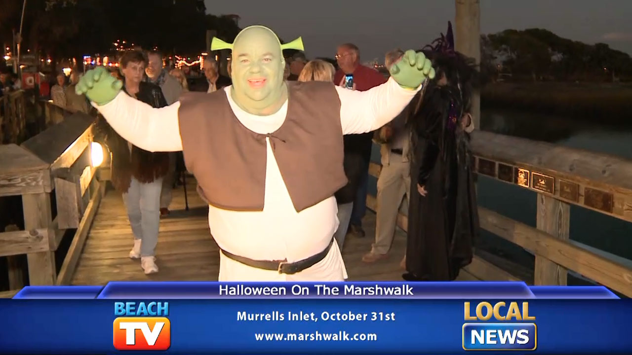 Halloween at the Murrells Inlet Marshwalk - Local News