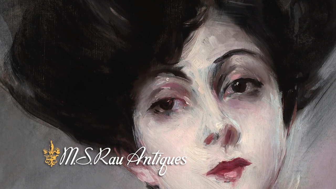 Portrait of Rita de Acosta Lydig by Giovanni Boldini at M.S. Rau Antiques