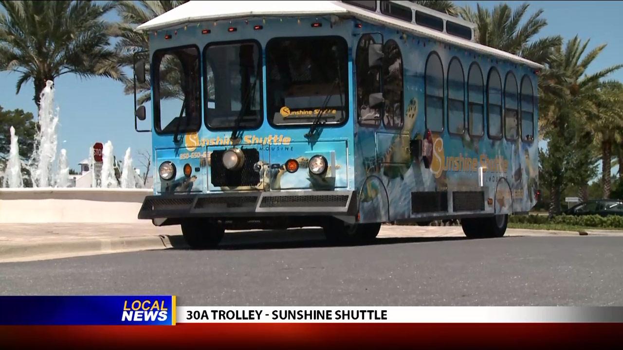 Sunshine Shuttle's 30A Trolley - Local News