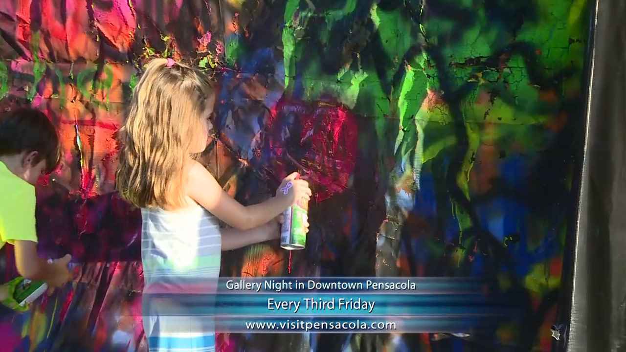 Gallery Night in Downtown Pensacola - Nightlife