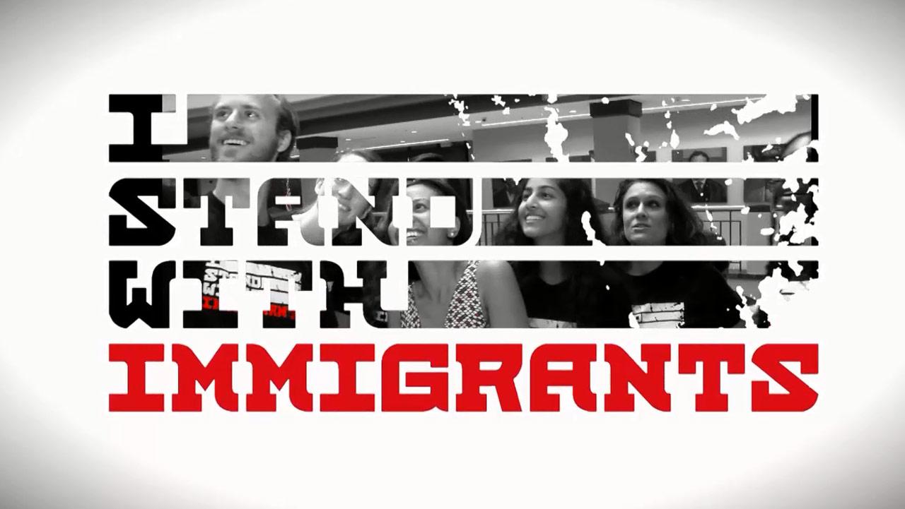 I Stand with Immigrants - Atlanta, GA