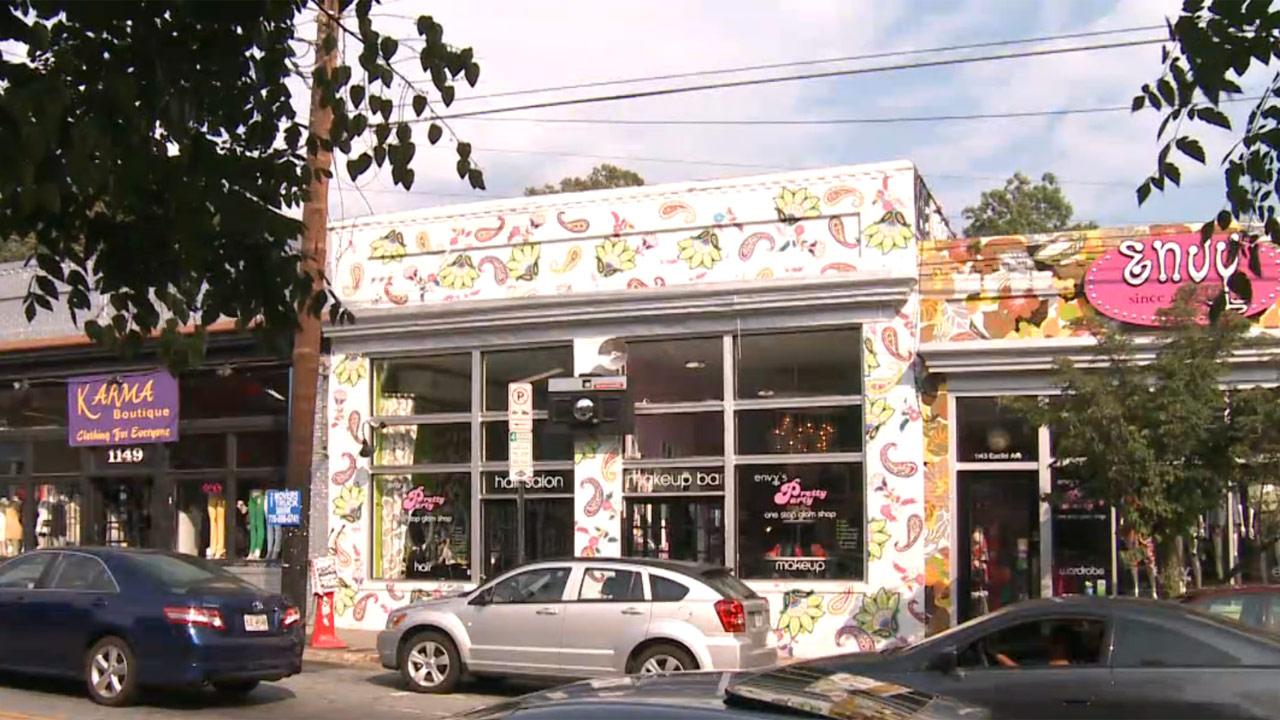 Atlanta's Little Five Points Neighborhood