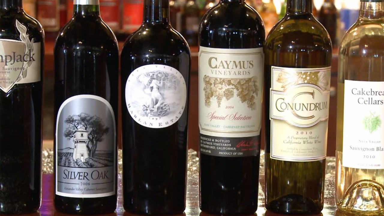 Capt. Anderson's Wine Cellar - A Note of History