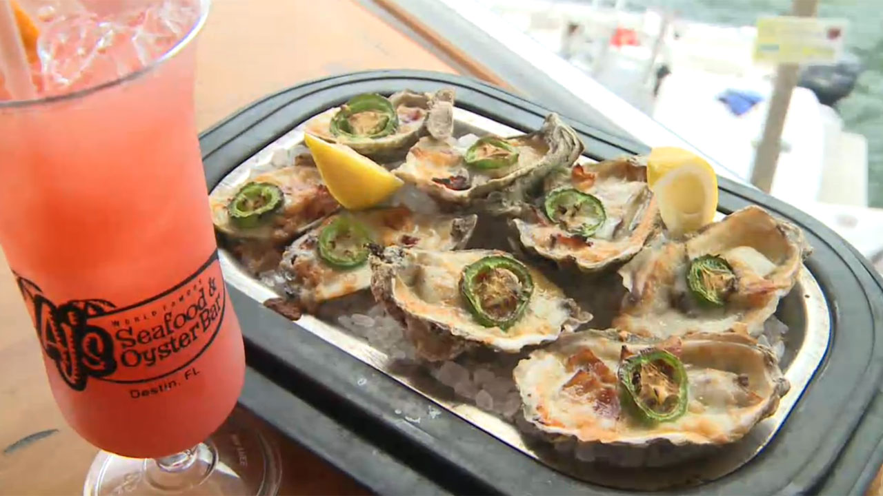 Best Oyster Bars from Destin, FL to Mobile, AL - Top 5