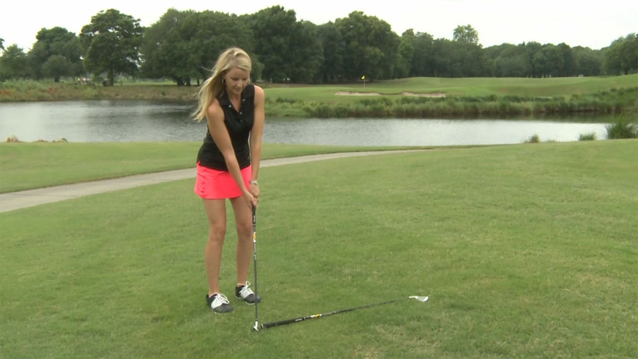 Meredith Kirk Chipping Golf Tip - A Piece of Advice