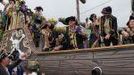 Abita Mardi Gras Parade on Okaloosa Island