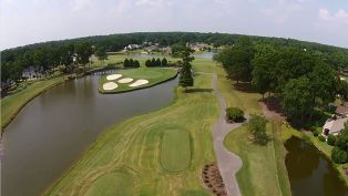 River Club's 14th Hole - Spotlight