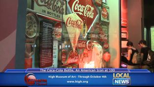 The Coca-Cola Bottle at High Museum - Local News