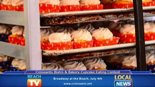4th July Cupcake Eating Contest at Croissants Bistro & Bakery - Local News