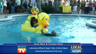 Beach Care Service Duck Race - Local News