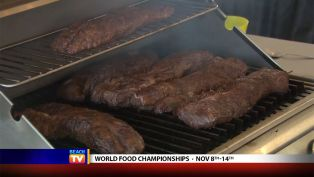 Bobby Lankford from Haulin' Butt BBQ at the World Food Championships - Local News