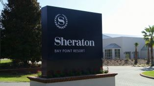 Sheraton Bay Point Resort Welcome Message