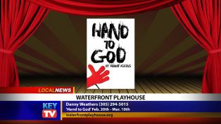 Waterfront Playhouse Presents Hand to God - Local News