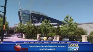 Dolphin Tales Exhibit at the Georgia Aquarium - Local News
