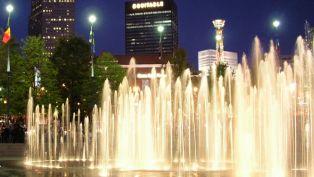 Sheretha Bell on Atlanta's Centennial Olympic Park
