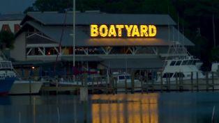 Boatyard in Panama City Beach, FL