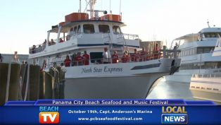 Panama City Beach Seafood and Music Festival Pam Anderson - Local News
