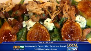 Commander's Palace - Chef Tory's Jazz Brunch - Local News