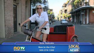 Nola Pedicabs - Local News
