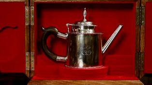 M.S. Rau Antiques - Paul Revere Silver Teapot