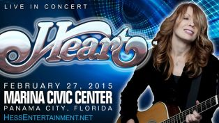 Heart Live in Concert at Panama City Marina Civic Center