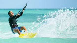 Kite Surfing: The Sky's the Limit