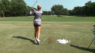 Natalie Gulbis Alignment Stick Use...
