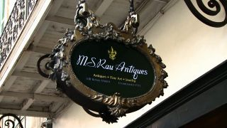 M.S. Rau Antiques on Royal Street