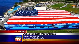 World's Largest American Flag...