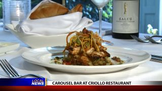 Carousel Bar at Criollo Restaurant...