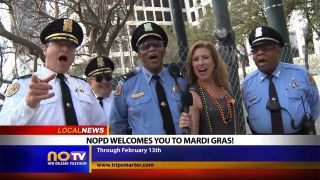 NOPD Welcome to New Orleans for...
