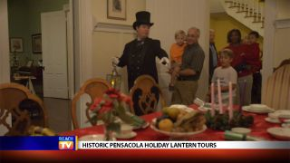 Historic Pensacola Holiday Lantern...