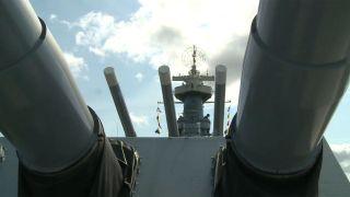 Battleship North Carolina Captain...