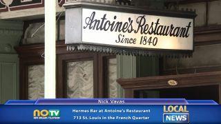 Hermes Bar at Antoine's...