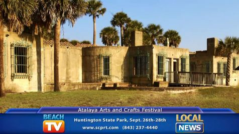 Atalaya arts and crafts festival local news for Myrtle beach arts and crafts festival