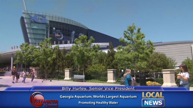 Georgia Aquarium 39 S Billy Hurley Healthy Water Local News
