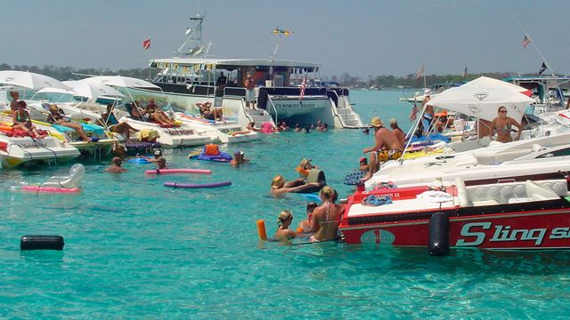 Crab island adventure tripsmarter com for Pensacola party boat fishing