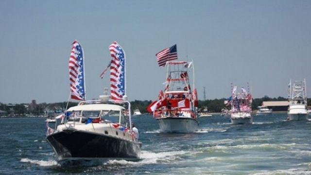 Centennial Imports Fiesta Boat Parade