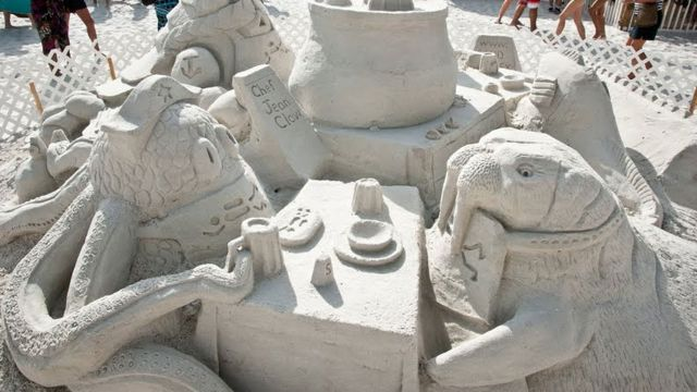 Fiesta Sand Sculpture Contest