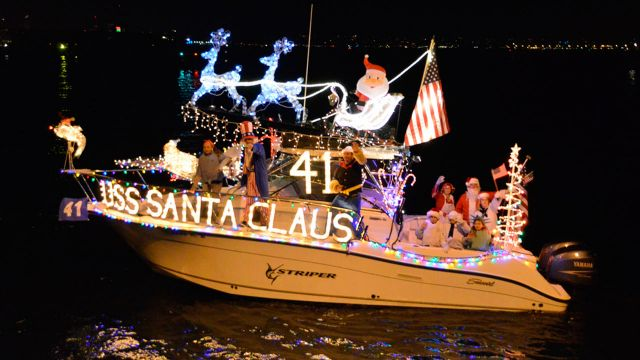Destin Holiday Boat Parade