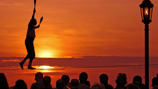 Mallory Square Sunset Celebration