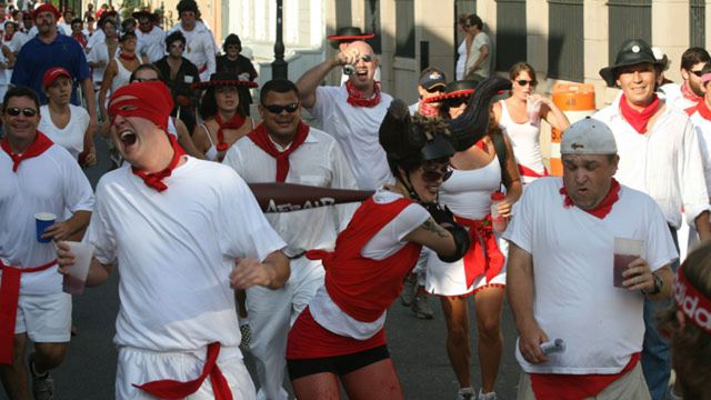 San Fermin Running of the Bulls
