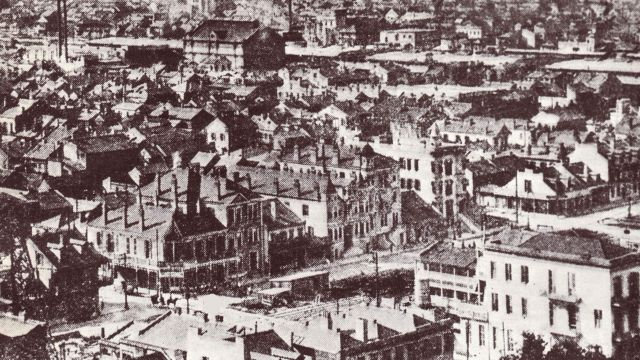 New Orleans' Storyville Area