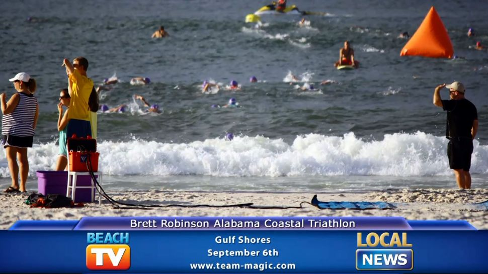Brett Robinson Alabama Coastal Triathlon - Local News