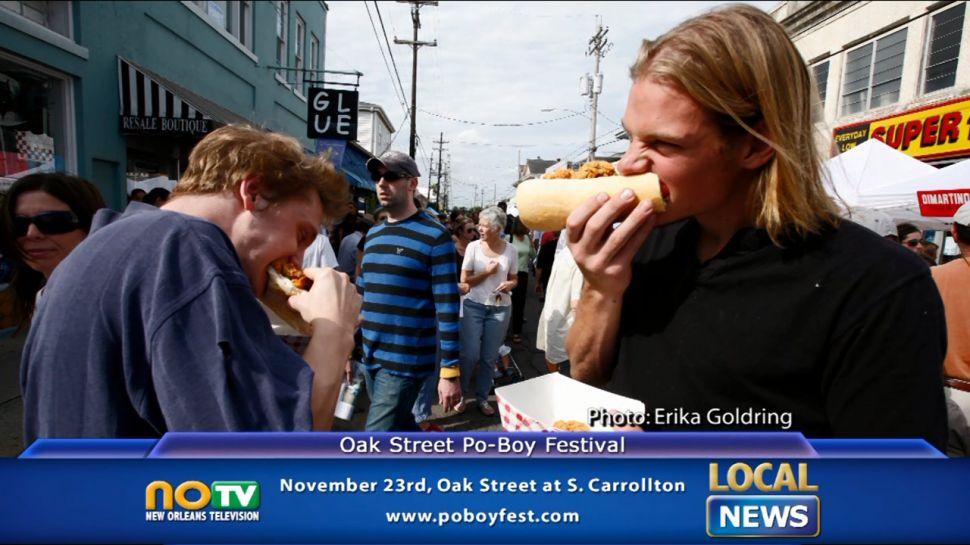 Oak Street Po Boy Festival - Local News
